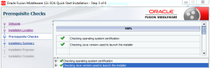 SOA Suite 12c Installation-Step 3