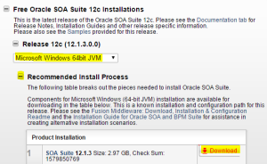 SOA Suite Download