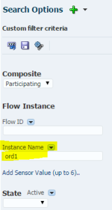 Search by Instance Name