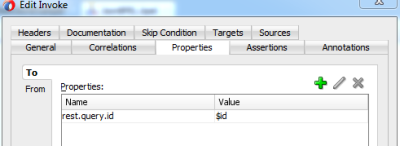 Set value for REST Query Param