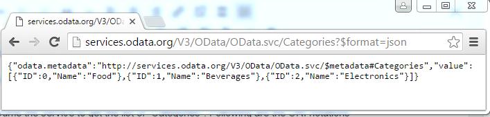 Consume JSON based OData Service using SOA 12c