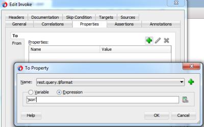Configure JSON Format