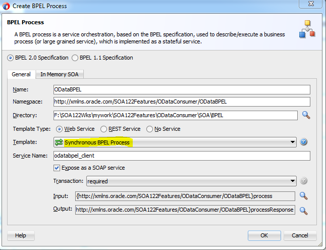 Consume JSON based OData Service using SOA 12c by Krishna